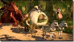 carrosse de Shrek et Fiona