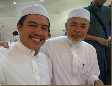 Dato Haron dan ustaz amin