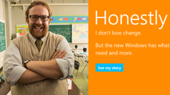 Microsoft and honesty?
