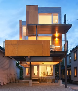 Casa dos en uno por colizza bruni architecture canada arquitexs - Casa in canapa costo ...