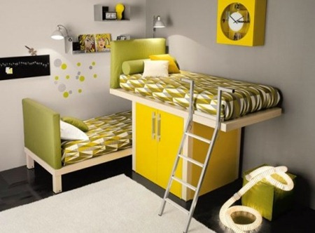 Kids bed room interior decorations 7
