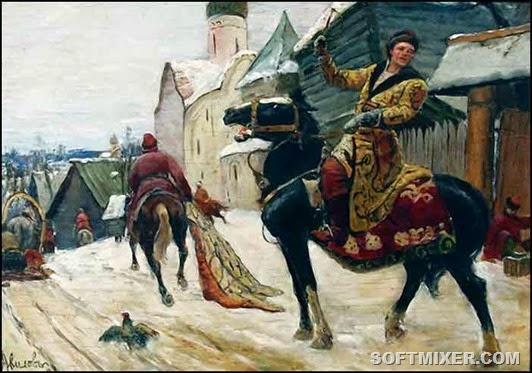 Avilov-M_I_-Oprichniki-v-Novgorode