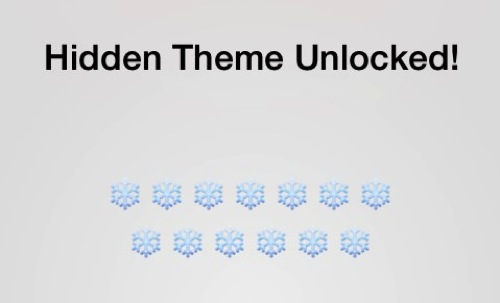 Unread hidden theme unlocked