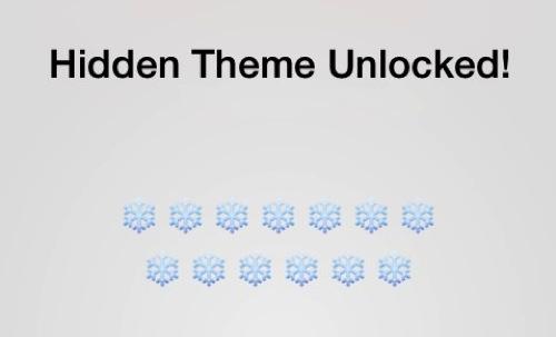 Unread hidden theme unlocked
