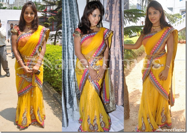 Srilekha_Yellow_Saree