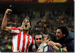 Falcao goleador Europa League