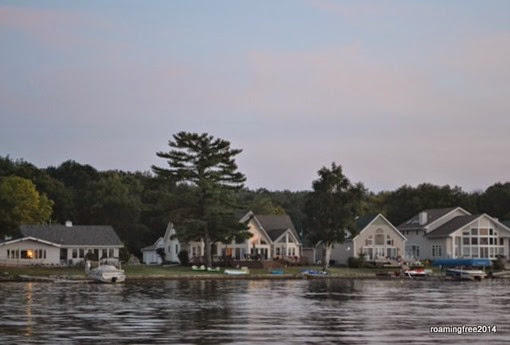 Cottages on the lake