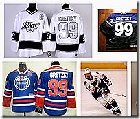 Wayne Gretzkky jerseys