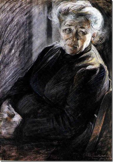 Umberto Boccioni -madre (1906)