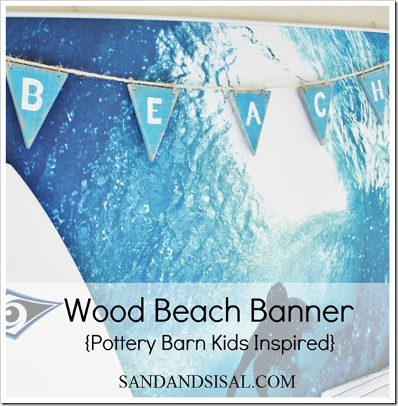 wood beach banner 