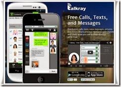 talkray appels et sms gratuit