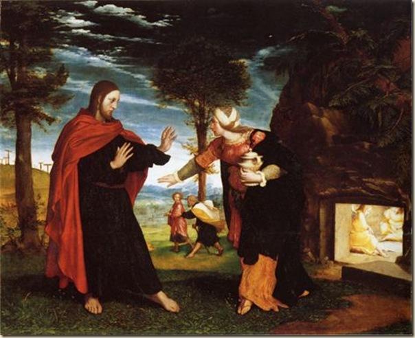 Holbein, Noli me tangere