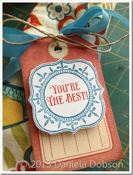 You're the best tag by  Daniela Dobson