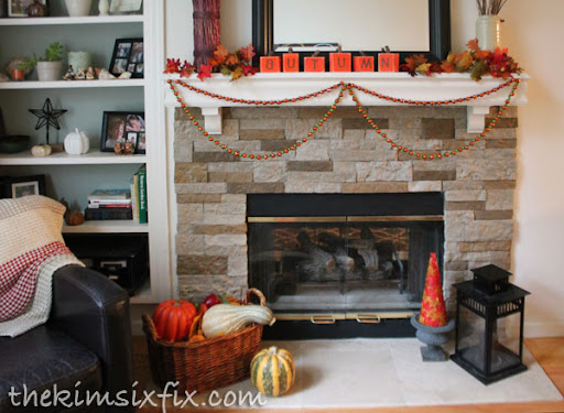 Stacked Stone Fireplace. The Transformation ...