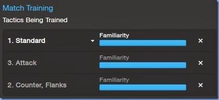 Maximum level of tactic familiarity in FM 2014