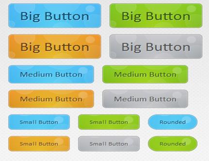 botões css3 animados