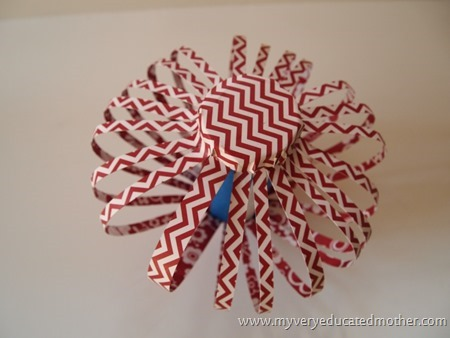Patriotic Party Decorations! #patriotic #crafting #redwhiteandblue #4th of July #papercrafts