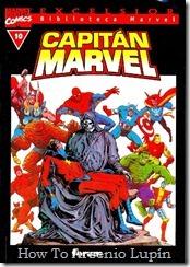 P00010 - Biblioteca Marvel - Capitán Marvel #10