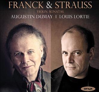 César Franck & Richard Strauss: VIOLIN SONATAS [Onyx Classics ONYX 4096]