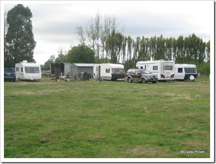 Our camp at Ashburton