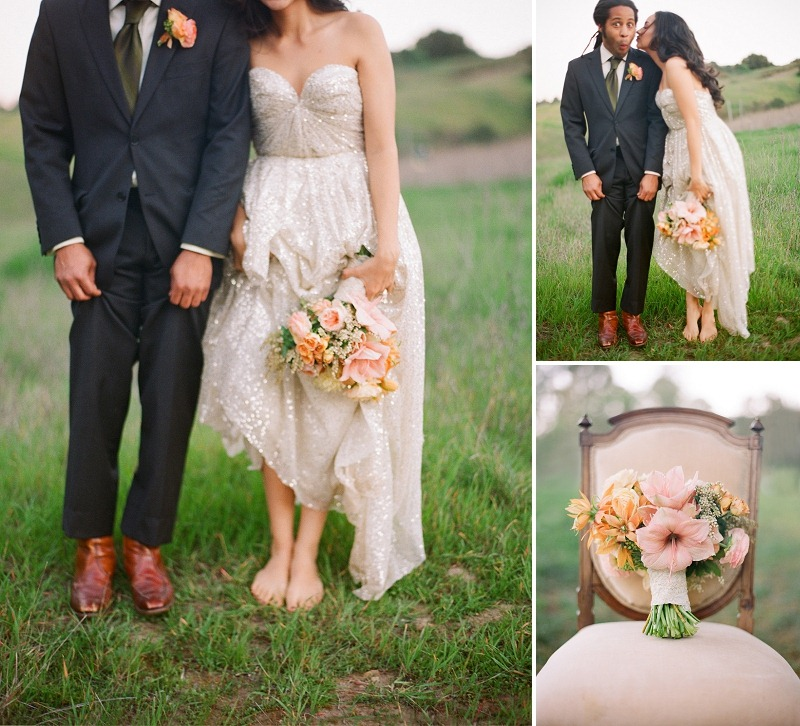 5 Oak and the Owl _ Gold and Blush Wedding