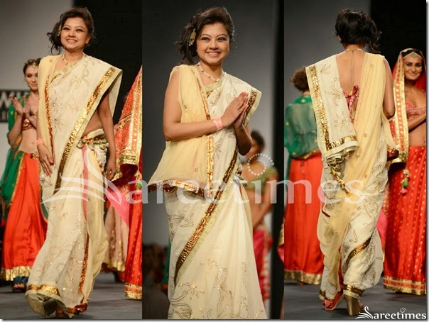 Anupama_Dayal_Cream_Embellished_Saree