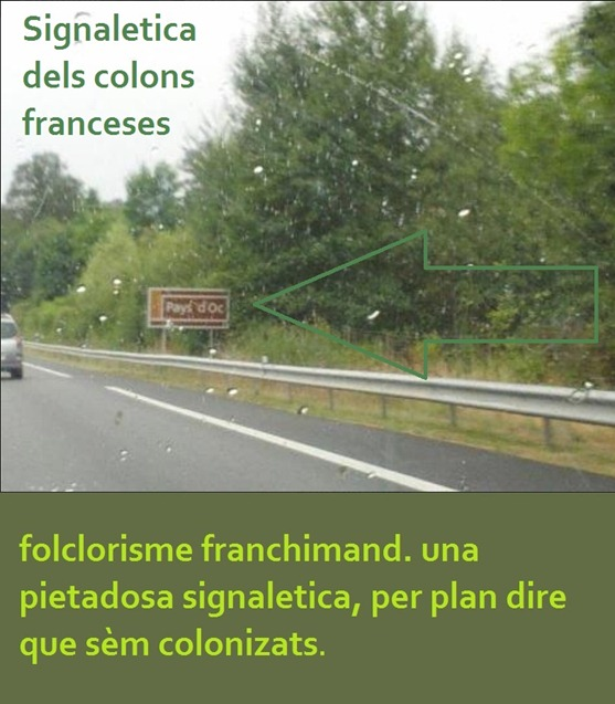 signaletica dels colons franceses