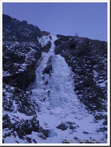 Cascada Du lard et du Cochon 180m WI3  (Boca Norte, Bielsa) 7913