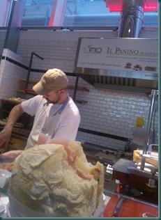 pan'ino mortadella formaggio al pistachio
