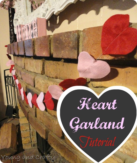 Heart Garland Tutorial