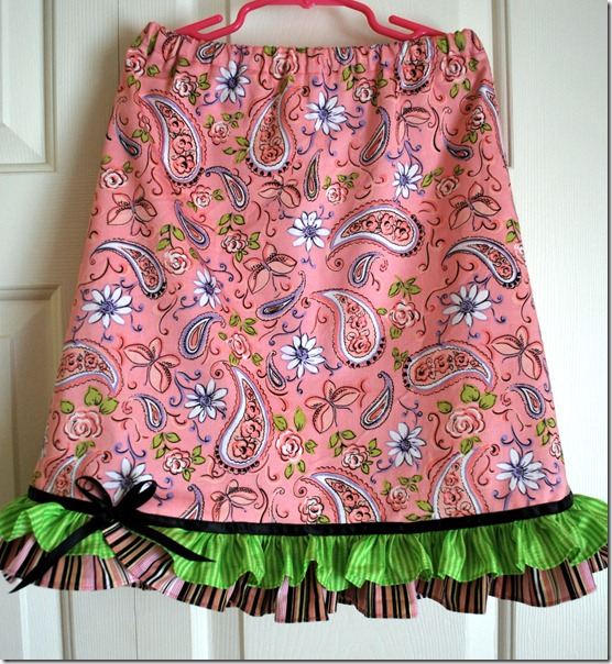 Alena and Alyson skirts 019