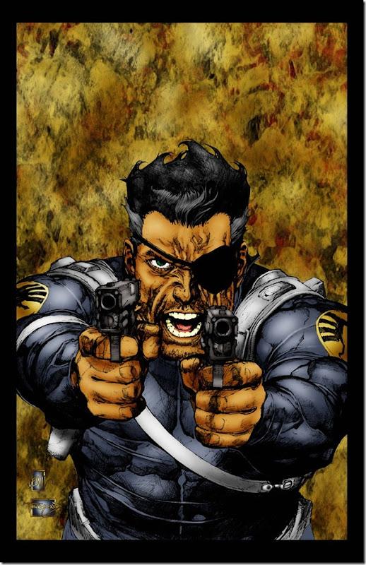Nick Fury,Nicholas Joseph,Samuel L. Jackson, David Hasselhoff (3)
