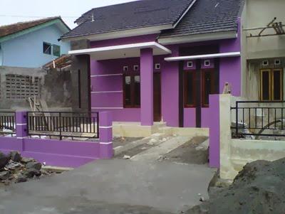 perpaduan warna cat dinding rumah minimalis