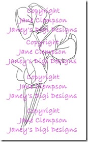 Sweet Pea - Janey's Digi Designs - Watermarked