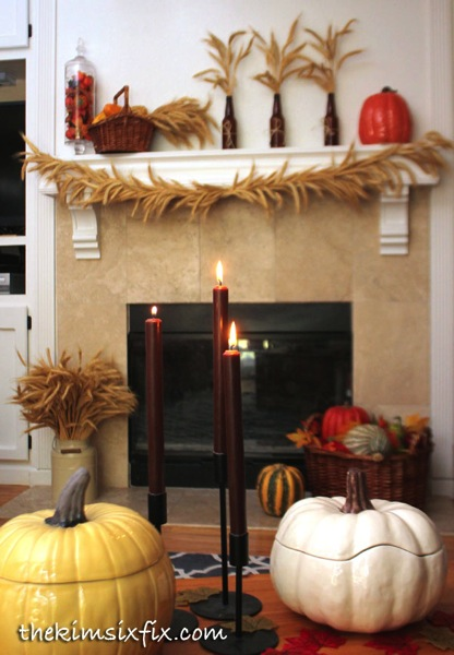 Thanksgiving wheat decor