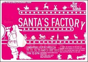 Santa's Factory Singapore Flyer Skydeck Jualan Gudang Jimat Deals EverydayOnSales Offers
