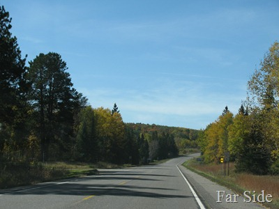 Near the Pickrel Lake Road