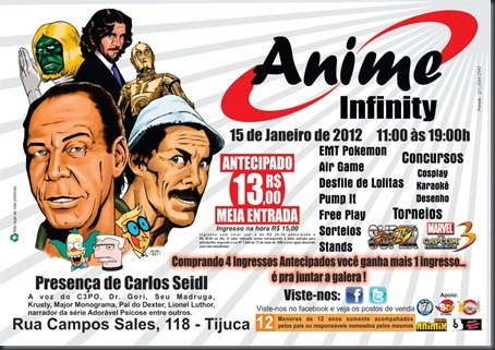 Anime Infinity cartaz