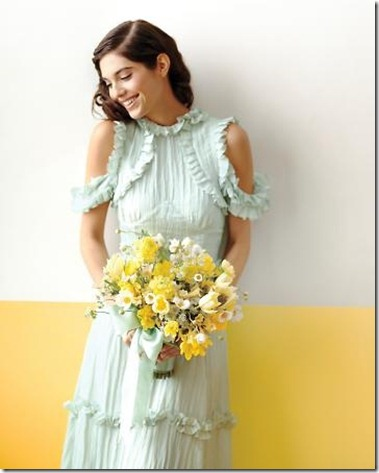 wedding_mint_yellow_decor_decoration_bride_groom_family_colors_color_colorful_style_spring_summer_day_dress_flowers