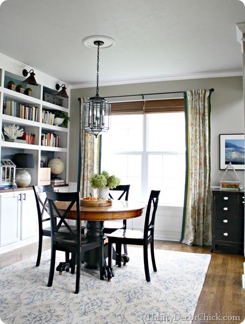 built ins dining room