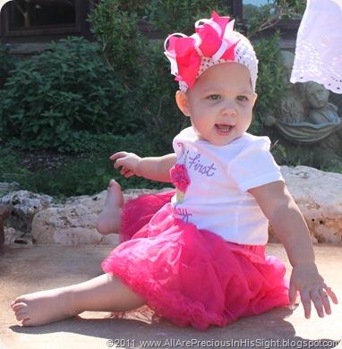 Selah's 1st birthday 018