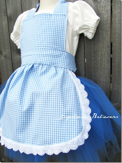 handcrafted dorothy costume by daydream believers