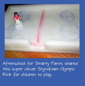 DIY Olympic Rink Playset for Kids
