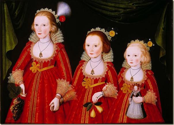 Larkin, fillettes et poupée