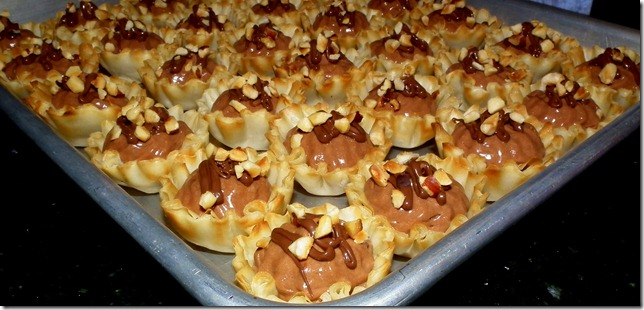Mini Nutella Tarts 12-13-11