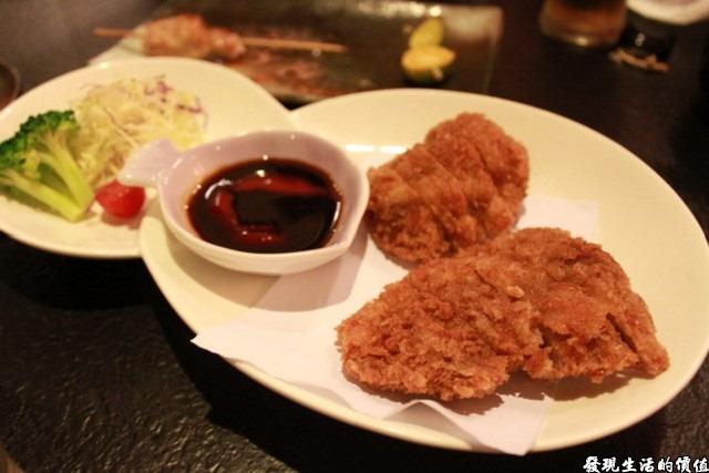 台南-花川日本料理。炸豬排
