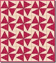 triangle in a square small scrappy