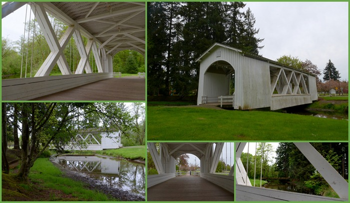 Stayton-Jordan Covered Bridge in Stayton
