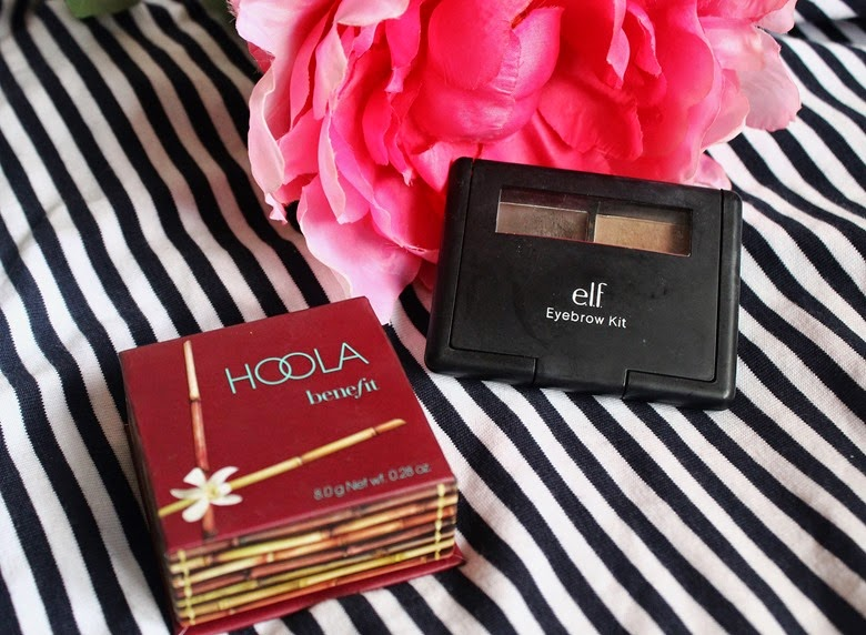 benefit hoola bronzer elf eyebrow kit