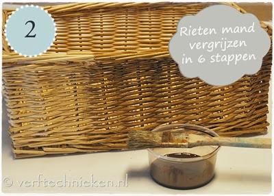verftechnieken.nl mandje vergrijzen stap 02